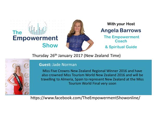 The Empowerment Show – Miss Tourism World New Zealand