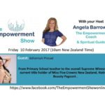 The Empowerment Show – From  Primary School Teacher to Beauty Pagent Winner